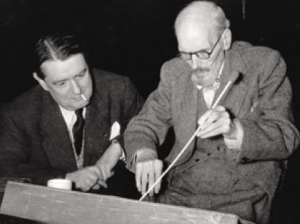 George Auric and Ernest Irving